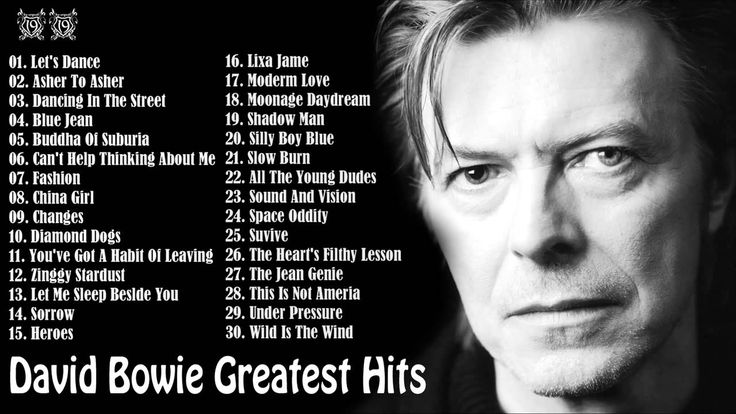 David Bowie Greatest Hits [Full Album]    David Bowie's 30 Biggest Songs