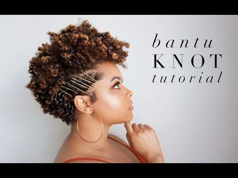 Bantu Knot Tutorial 4A Tapered Natural Hair   As I Am - https://blackhairinformation.com/video-gallery/httpswww-youtube-comwatchvd81epnnodfu-video/