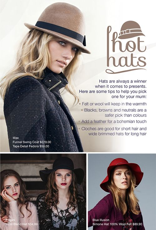 Hot Hats, the perfect gift for mum!
