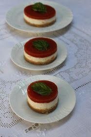 La Trappola Golosa : Caprese cheesecake, ovvero Cheesecake salata con fresella pomodoro e mozzarella