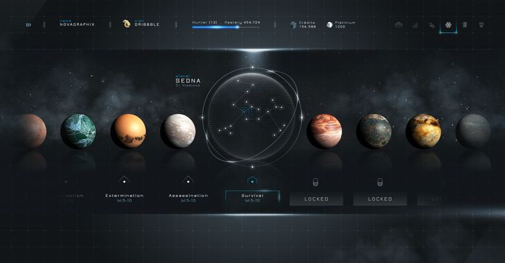 Warframe™ - Statistics & Planets by Steve Fraschini