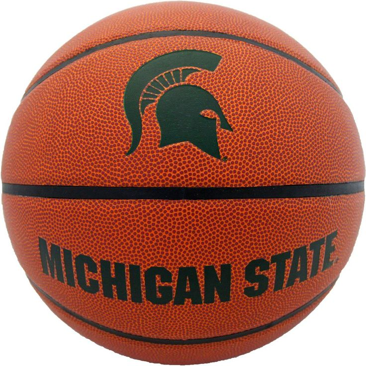 Baden Michigan State Spartans Official Basketball, Brown