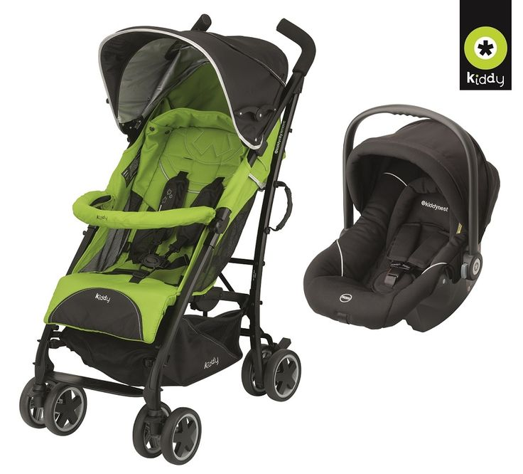 Kiddy Nest Cityn Move Seyahat Sistemi(Travel Set) Racing Black/Apple :: Yerinde Sipariş