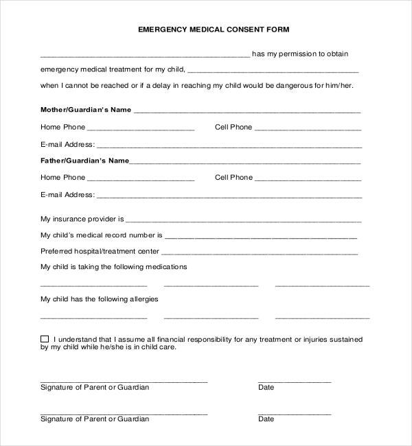 25+ einzigartige Medical consent form children Ideen auf Pinterest - parent consent forms