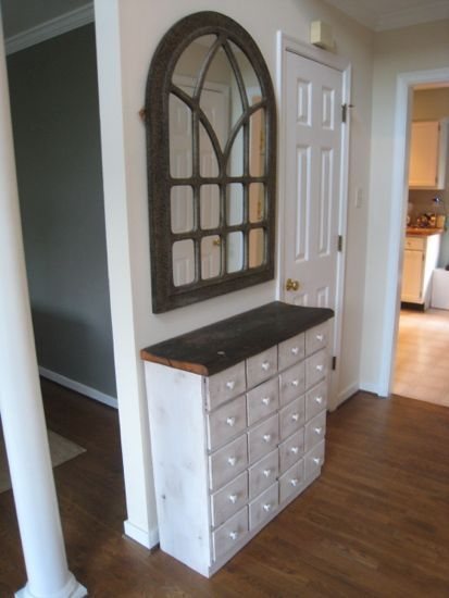 Apothecary Table And Sweet Mirror