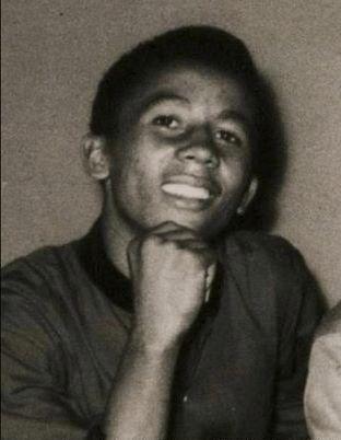 A young Bob Marley.....