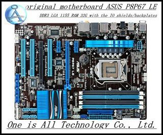 original motherboard for ASUS P8P67 LE DDR3 LGA 1155 boards 32GB USB20 USB3.0 SATA3.0 Desktop motherboard free shipping (32316672039)  SEE MORE  #SuperDeals