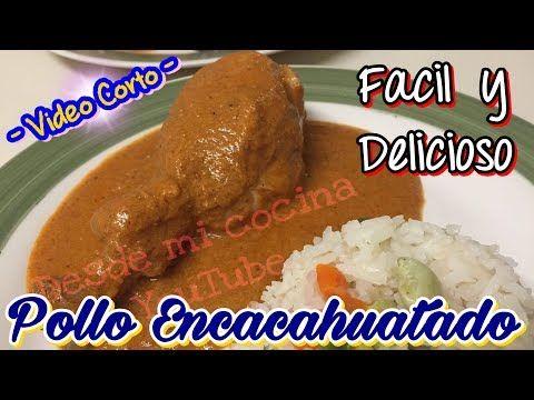Pollo Encacahuatado / Pollo En Salsa de Cacahuate / Chicken with Peanut Sauce - YouTube