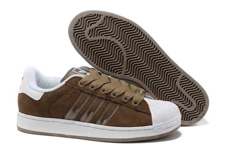 Pantofi Adidas Adicolor Pantofi din piele maro vânzare fierbinte A815