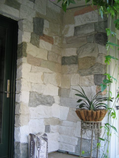 faux rock wall (just the picture) great colors for biblical setting