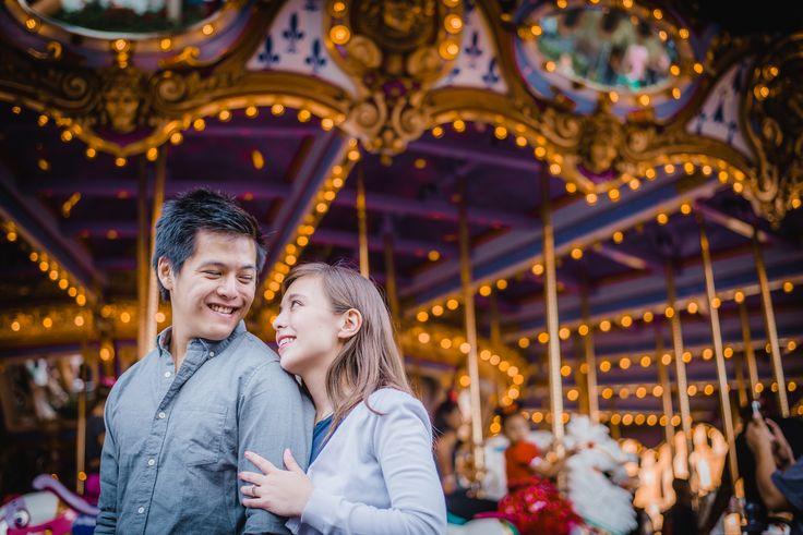 Edric & Jessica Disneyland Engagement Session -