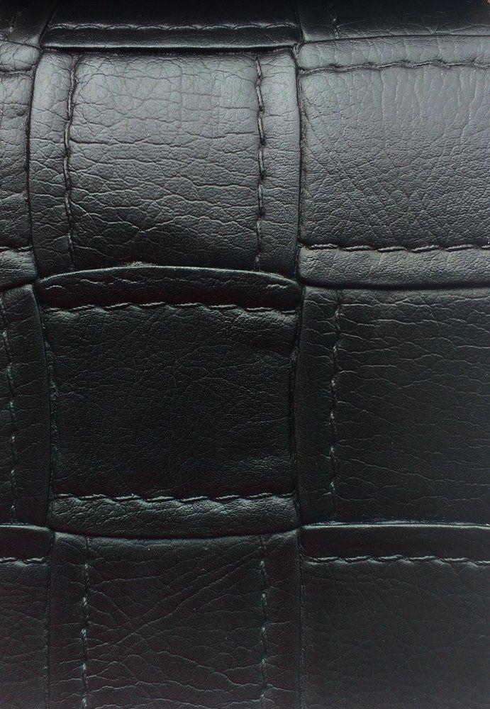 Tecido courvin estilo costurado Preto - Jade05 - Site de tecidos para sofá, cortinas, papel de parede e móveis