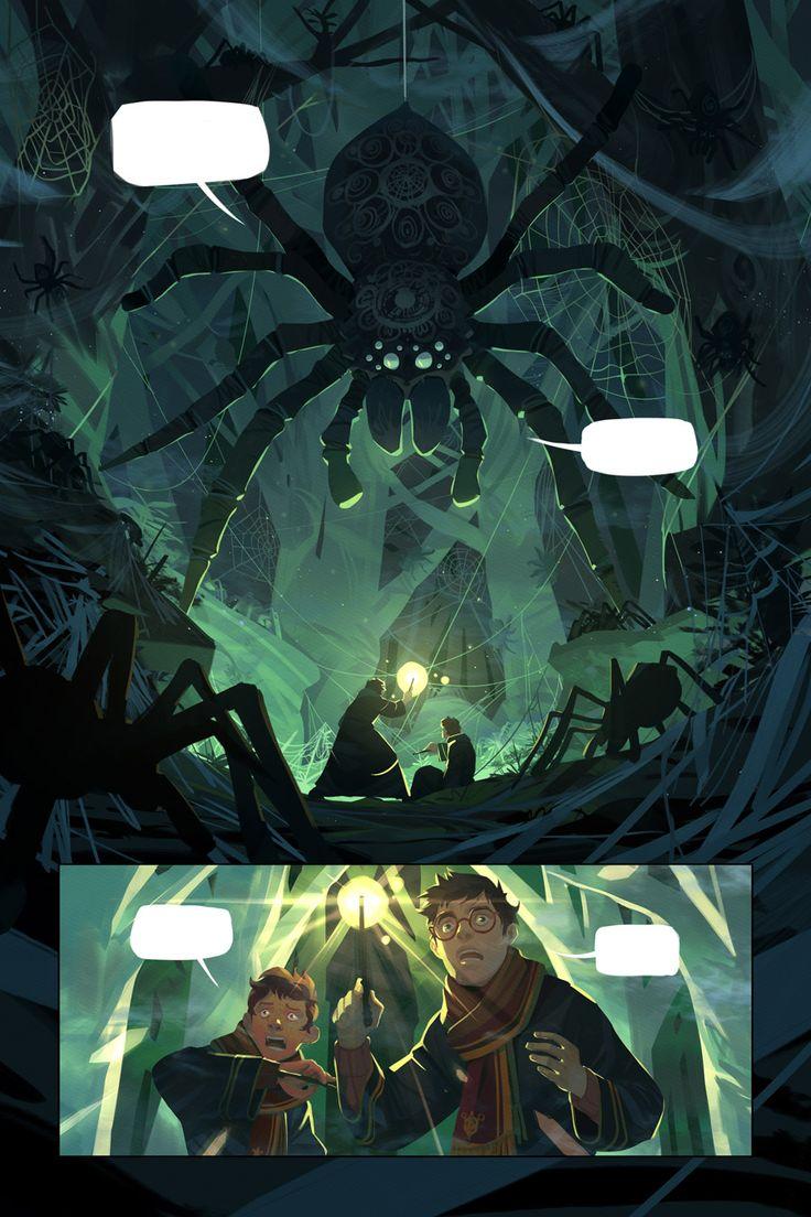 Harry Potter and the Chamber of Secrets. by Nesskain.deviantart.com on @DeviantArt