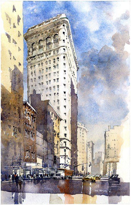 Iain Stewart - watercolor