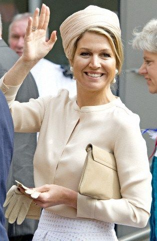 Queen Máxima,May 6, 2014 in Fabienne Delvigne | Royal Hats