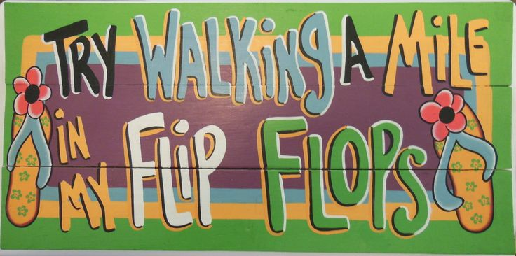The Gecko Shack - Try Walking a Mile in My Flip Flops, $39.95 (http://www.geckoshack.com.au/try-walking-a-mile-in-my-flip-flops/)