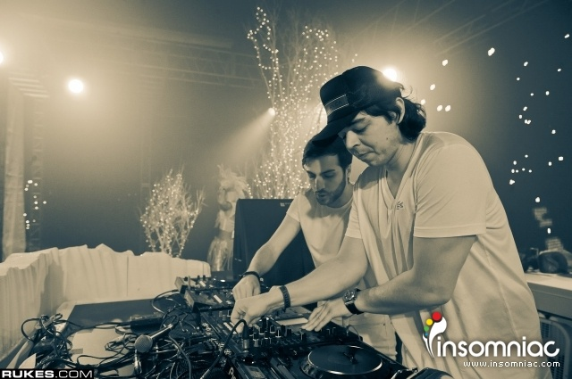 AN21 and Max Vangeli at White Wonderland Day 2 -2011- Rukes - Insomniac Events