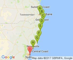 Brisbane to Sydney drive