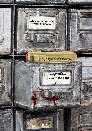 Okładka książki Zagadki kryminalne PRL