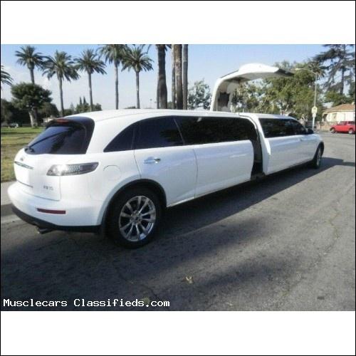Superb 180 Inch Stretch Infiniti FX35 Limousine