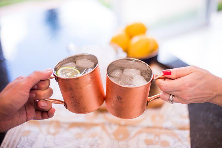 Moscow Mule é um dos meus drinks favoritos – refrescante e com sabor intenso