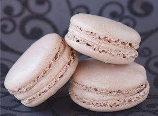 Denny Chef Blog: Macarons con malto e semi di zucca