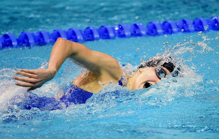 Hannah Moore of United States of America in the Women's 400m freestyle   Olympic Photo
