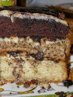 TEJ- ÉS TOJÁSALLERGIA: Tej és tojásmentes somlói galuska torta
