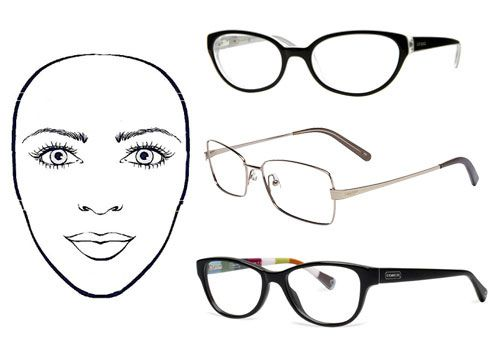 Eyeglass Frame Shapes For Oval Faces : Eyecessorize: The Best Frames for Your Face Shape ...