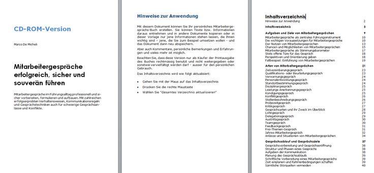 """Beim Titel """"Mitarbeitergespräche erfolgreich, sicher und souverän führen"""" befindet sich das Buch zur individuellen Anpassung/Kürzung oder Bearbeitung als Worddokument auf der CD-ROM ISBN: 978-3-9523596-0-0"""