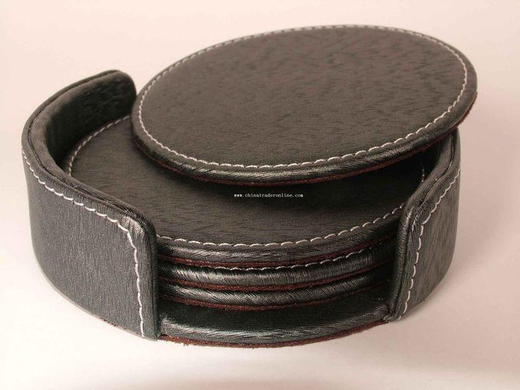 Leather Coasters   Shinola® Detroit
