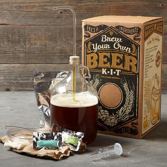 Dads can brew their own gluten-free beer at home with this easy-to-use kit!