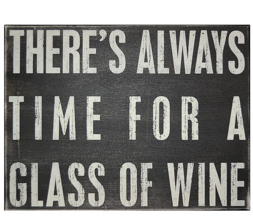 Wine truth.