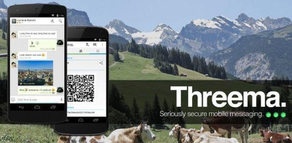 Threema Update bringt neue Features  #threema #messenger