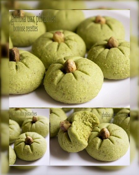 Ghorïba aux pistache / pistachio biscuit - Maroc Désert Expérience tours http://www.marocdesertexperience.com