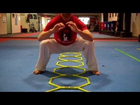 Ladder Drills For  Taekwondo Strength/Speed