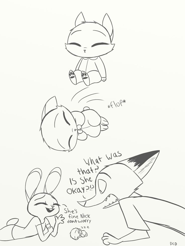 I like to think that Nick would be really protective over his child because he didn't want him/her going through the pain and sadness he went through as a child.