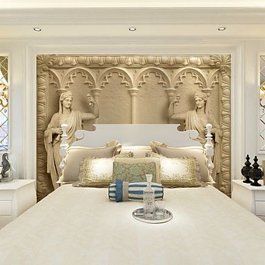 JAMMORY Relief Goddess 3D Fashion Wall Covering Canvas Material Golden ChurchXL XXL XXXL 5528412 2017 – $84.99