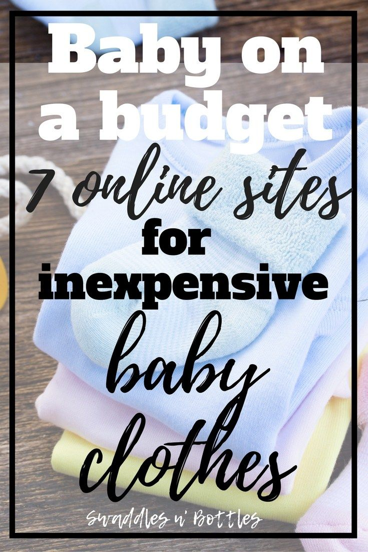7 Websites For Inexpensive Baby Clothes Percfect For When You Want Your  Kid To Look