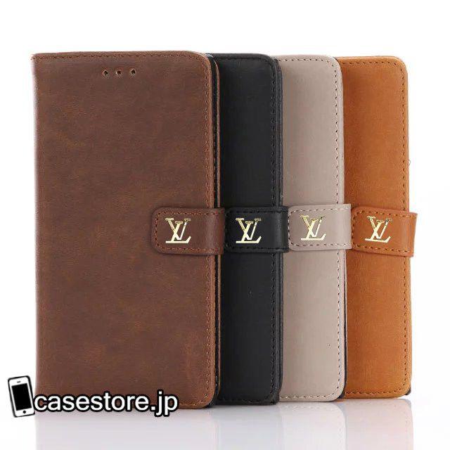 xperia xzソニーsonyエクスペリアケース ルイヴィトンLVブランド手帳型カード収納携帯カバースタンド機能ビジネス風シンプルドコモ/Xperia X Compact男女薄いソフト