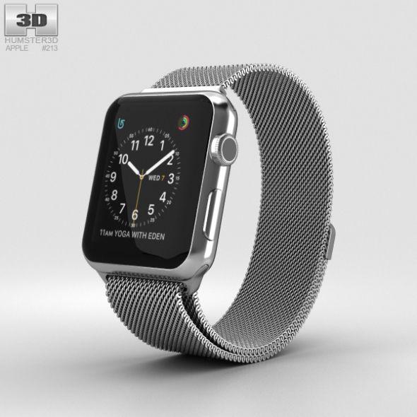 Apple Watch Series 2 42mm Stainless Steel Case Milanese Loop Apple Watch Apple Watch Series 2 Buy Apple Watch