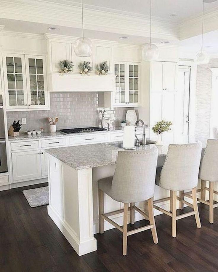 35 Beautiful Kitchen Backsplash Ideas: 35 The Best White Kitchen Cabinet Design Ideas To Improve
