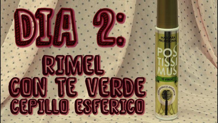 Dia 2 Reseña Rimel Postissimus Negro Intenso con Te Verde + Cepillo Esfe...