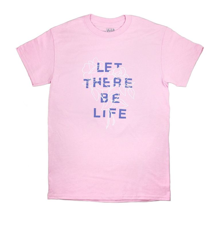Roses Light Pink T-Shirt | The Bright Life
