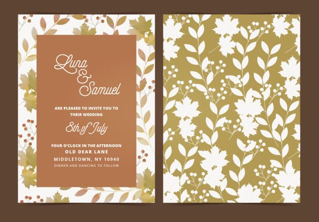 Invitation Letter For Fresh Flower Wedding Download The Hd Full