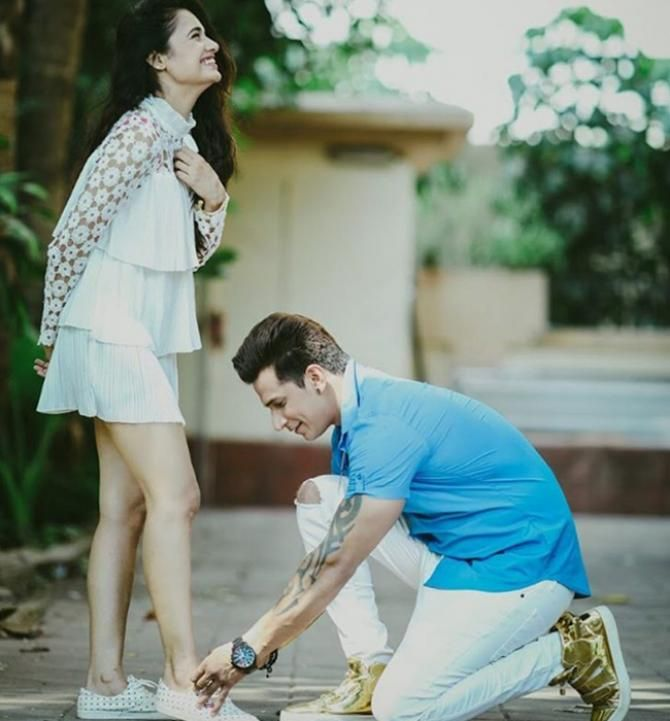 Yuvika Chaudhary Reveals Her Feelings For Prince Narula For The First Time Ever - BollywoodShaadis.com