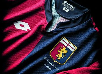 Genoa CFC 2015/16 Lotto Home and Away Kits