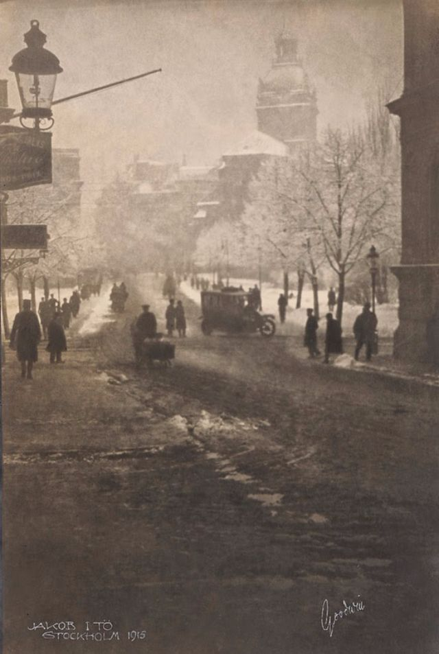 Amazing Vintage Photos of Stockholm, Sweden in the 1910s