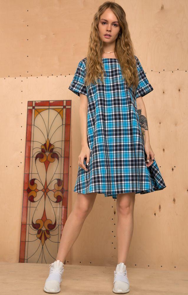 Платье Голубое Trends Brands Base 3490р.