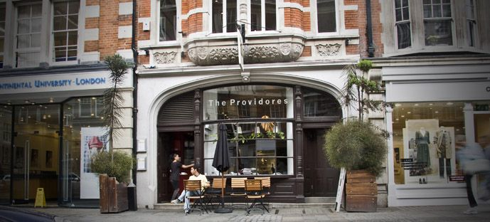 The Providores and Tapa Room 109 Marylebone High Street  W1U 4RXRun by New Zealand chef Peter Gordon, The Providores is a fusion eatery on upmarket Marylebone High St with a distinctly South Pacific flavor Providores Tapas Room, 109 Marylebone High St, Marylebone (LW32-4)
